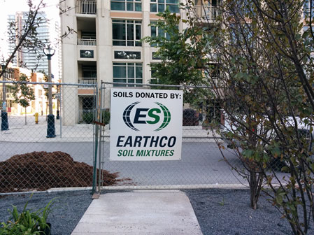 Earthco Donates To June Callwood Park